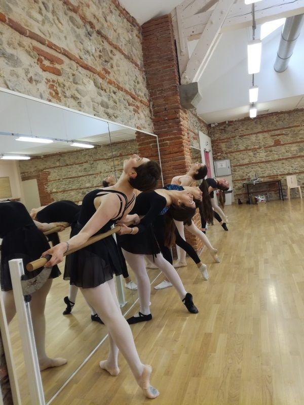 photo de danseuses classiques